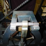 Pendulum suspension (elevated view)