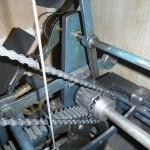 Striking train pinion (note: not a lantern pinion)